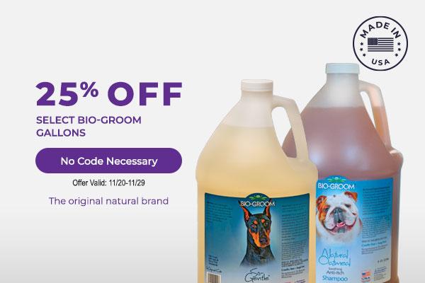 25% off Select Bio-Groom Gallons No Code Necessary